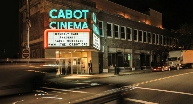 cabot theater in beverly, massachusetts